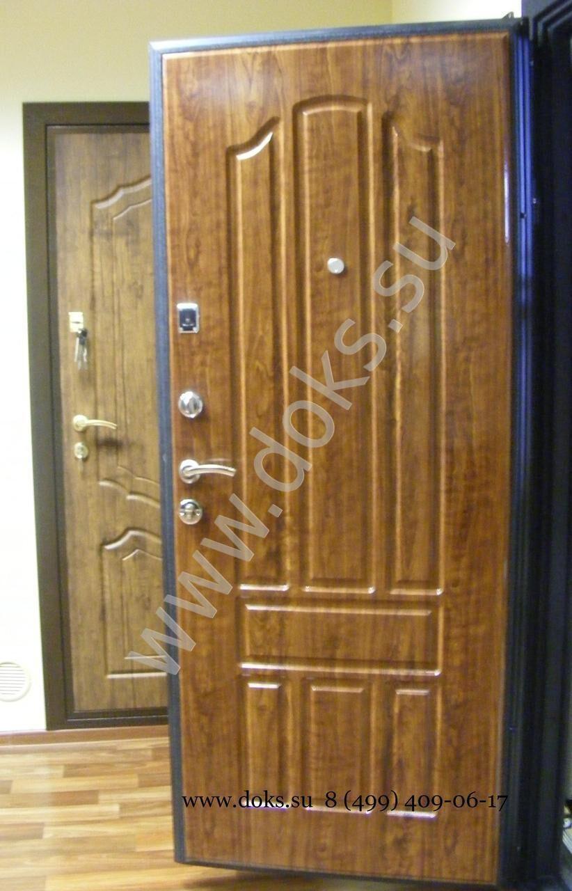 тамбурные входные металлические двери с распашной